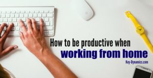 home office productivity time managment