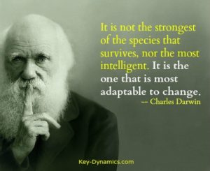 adapt learn darwin survive