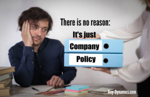 company policy key dynamics business
